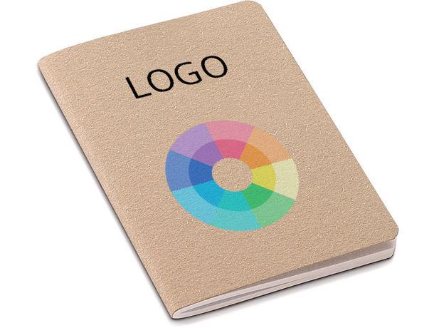 Mini cuaderno ecologico 30 hojas personalizado