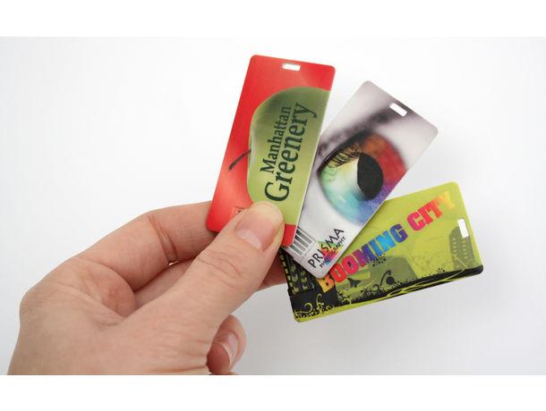 Memorias usb tarjeta mini personalizado
