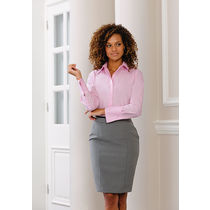 Blusa manga larga no necesita planchado de mujer russell 120 personalizada