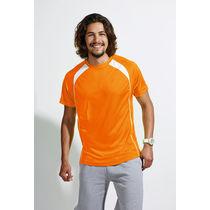 Camiseta tecnica bicolor match sols 140 personalizada