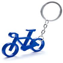 Llavero con forma de bicicleta personalizado