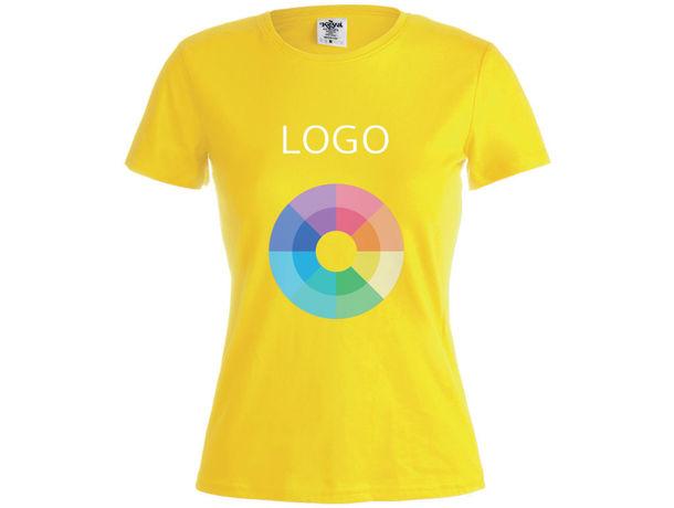 Camiseta mujer 150 gr m2 algodon ring spun de mujer wcs150 keya 150 personalizado