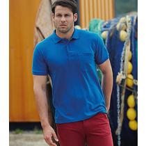 Polo con bolsillo pocket fruit of the loom 180 personalizado