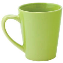 Taza conica color barata verde