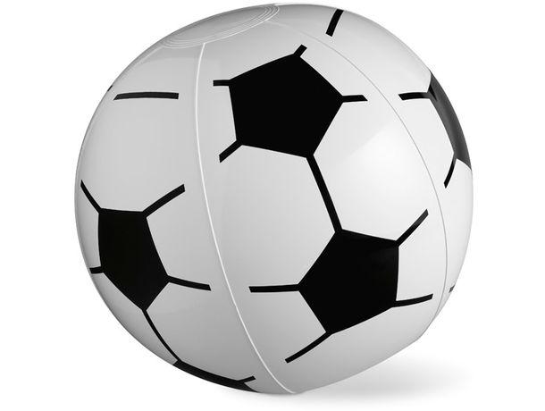 Pelota De Playa Inflable Con Diseño De Fútbol