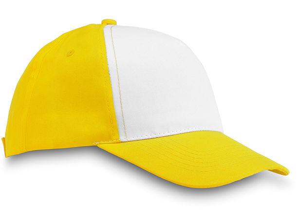Gorra de beisbol de 5 paneles personalizada