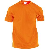 Camiseta 100 algodon hecom 135 barata naranja